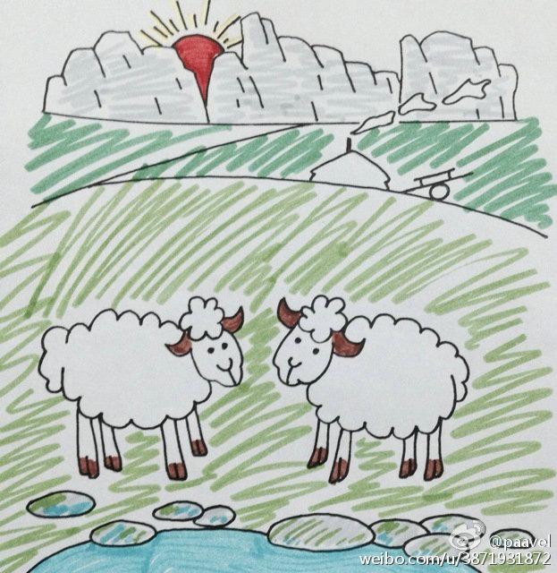 蒙古孩子简笔画 第17张