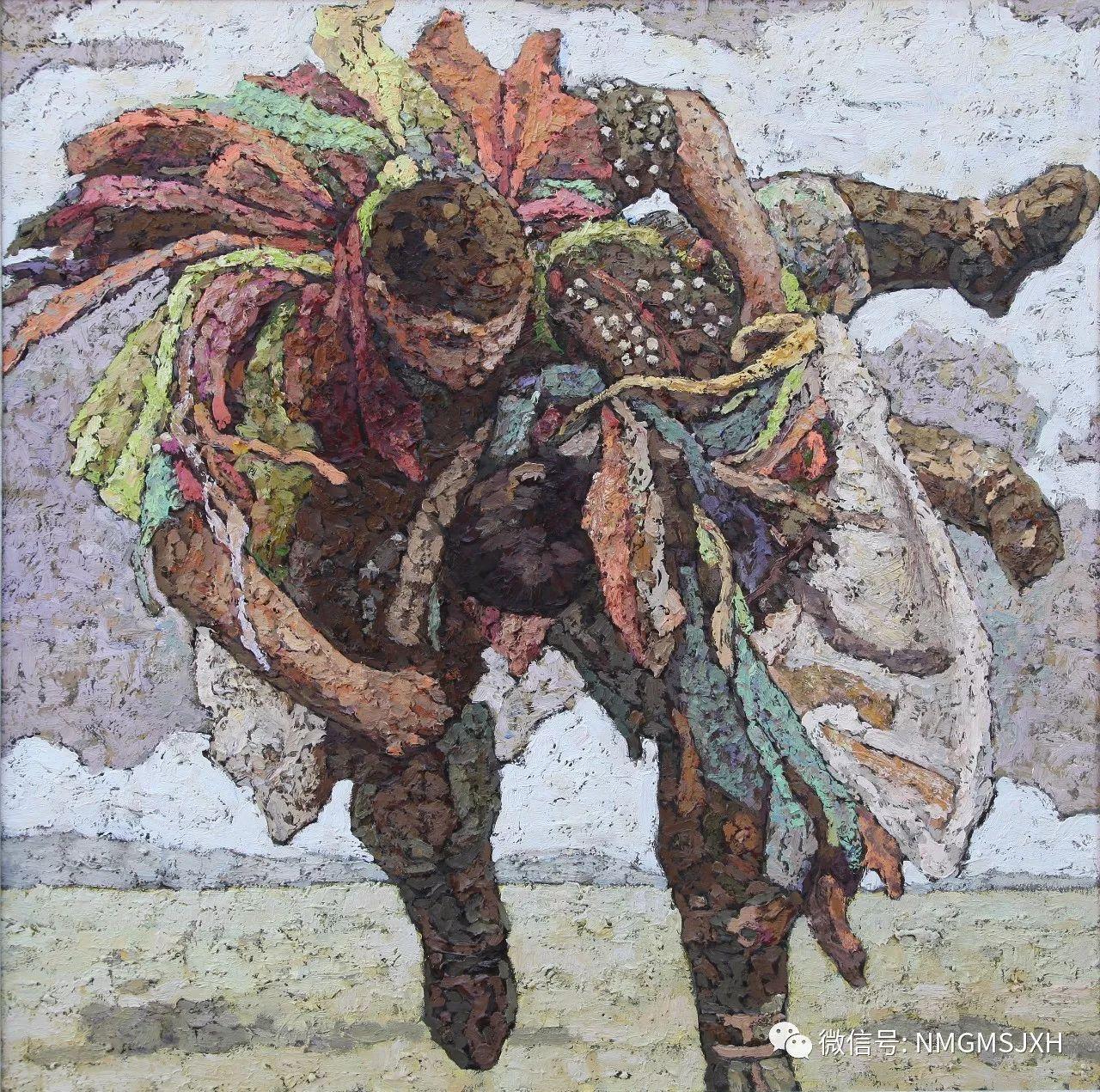 内蒙古美术新人新作展作品(一) 第8张