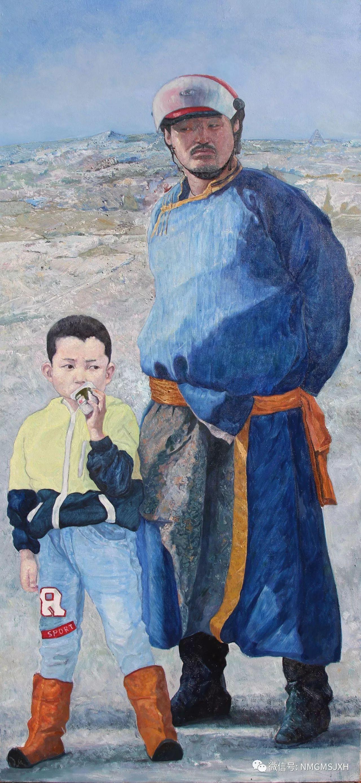 内蒙古美术新人新作展作品(一) 第19张