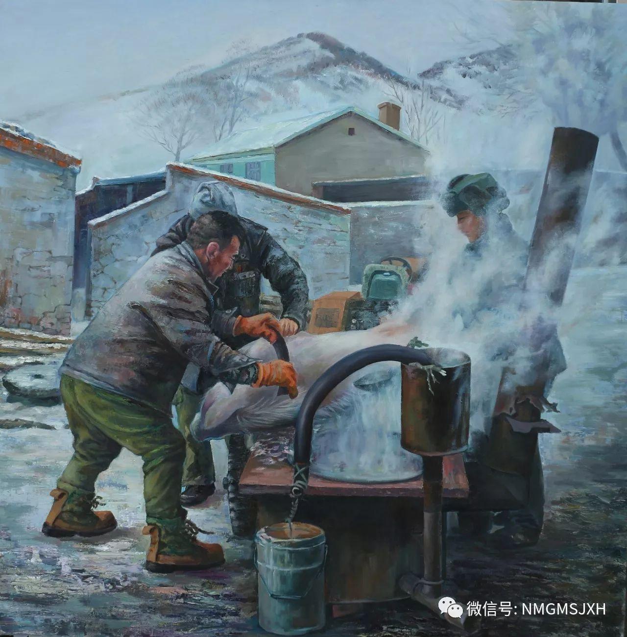 内蒙古美术新人新作展作品(二) 第14张