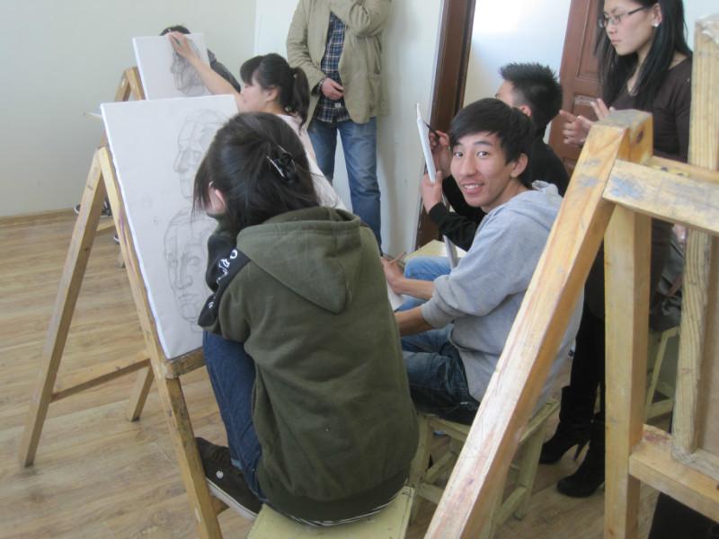 ♡◆走进蒙古国国立教育大学美术学院 第9张