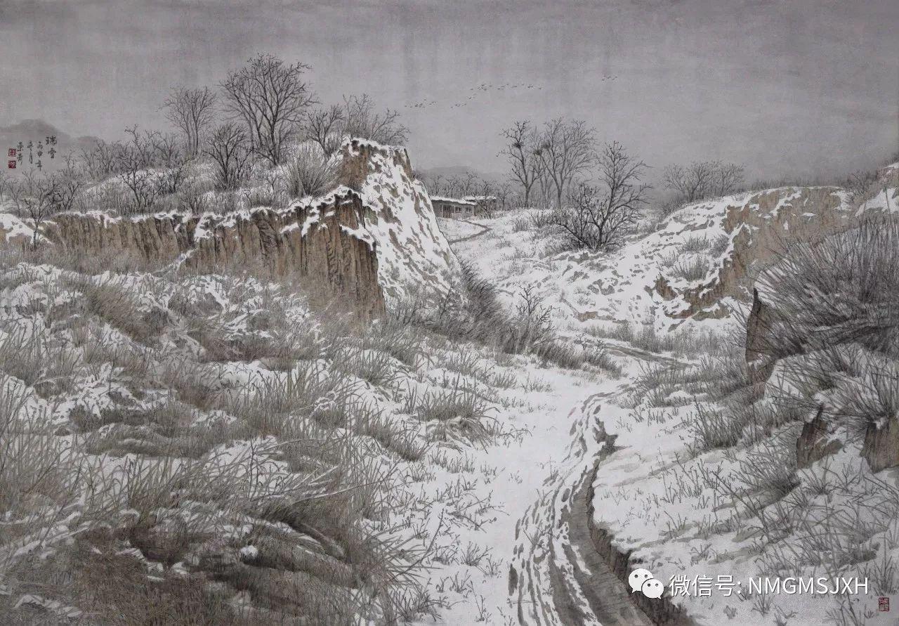 内蒙古美术新人新作展作品(三) 第7张