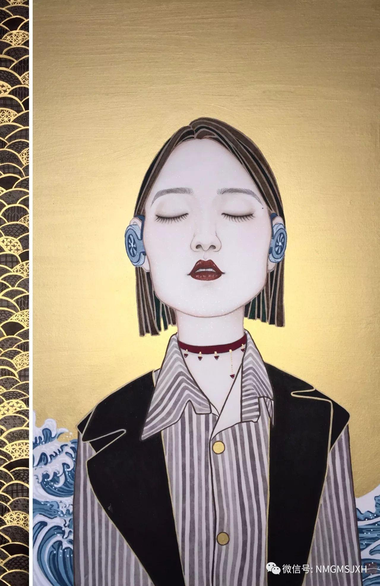 内蒙古美术新人新作展作品(三) 第10张