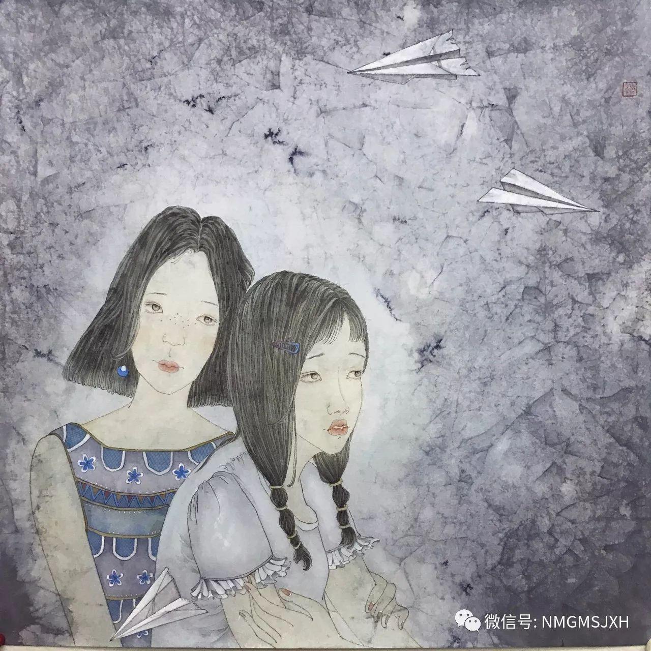 内蒙古美术新人新作展作品(三) 第15张