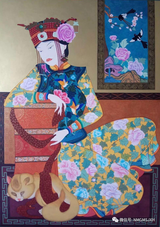 内蒙古美术新人新作展作品(三) 第16张