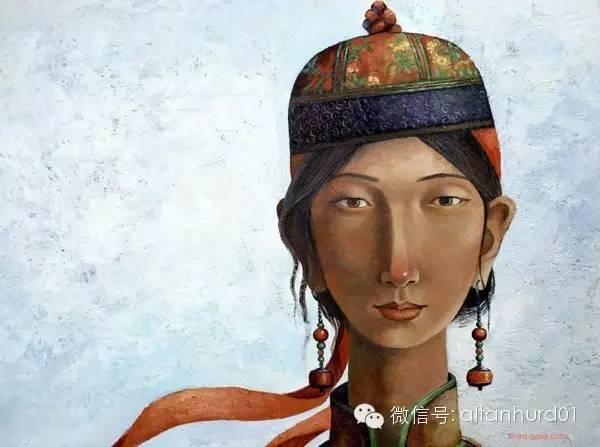 请欣赏蒙古国画家扎雅赛罕美术作品! 第24张