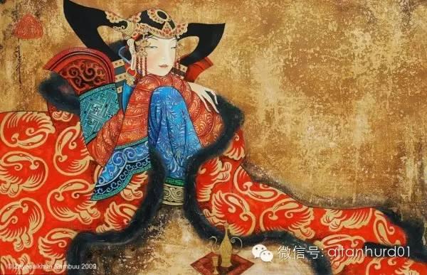 请欣赏蒙古国画家扎雅赛罕美术作品! 第29张