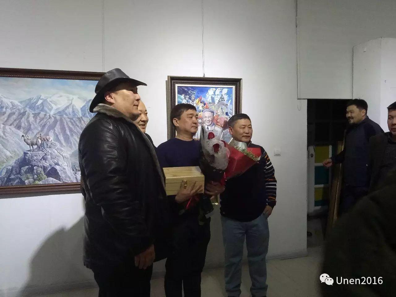 【Unen】美术:蒙古国青年画家巴雅尔的油画作品 第2张