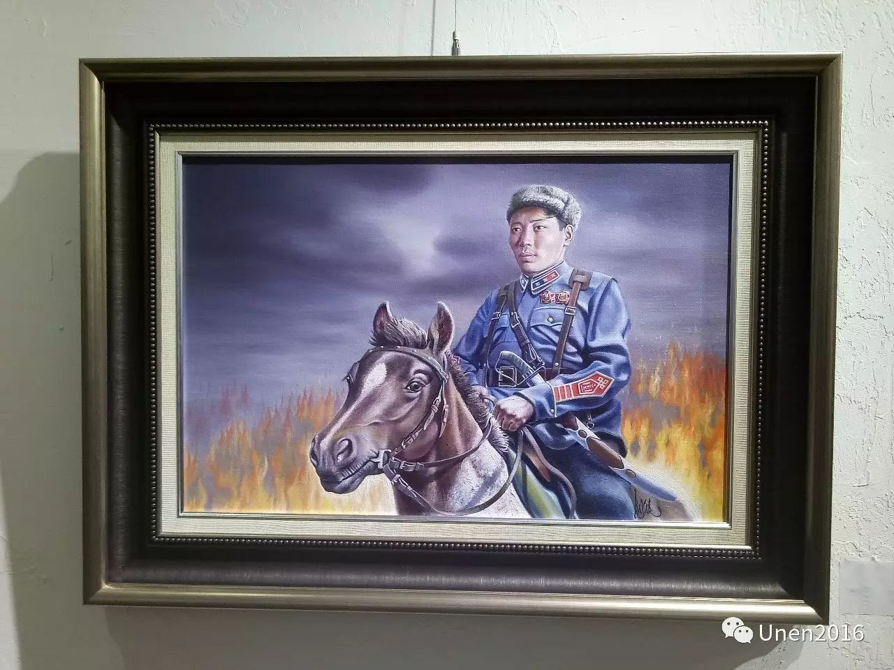 【Unen】美术:蒙古国青年画家巴雅尔的油画作品 第5张