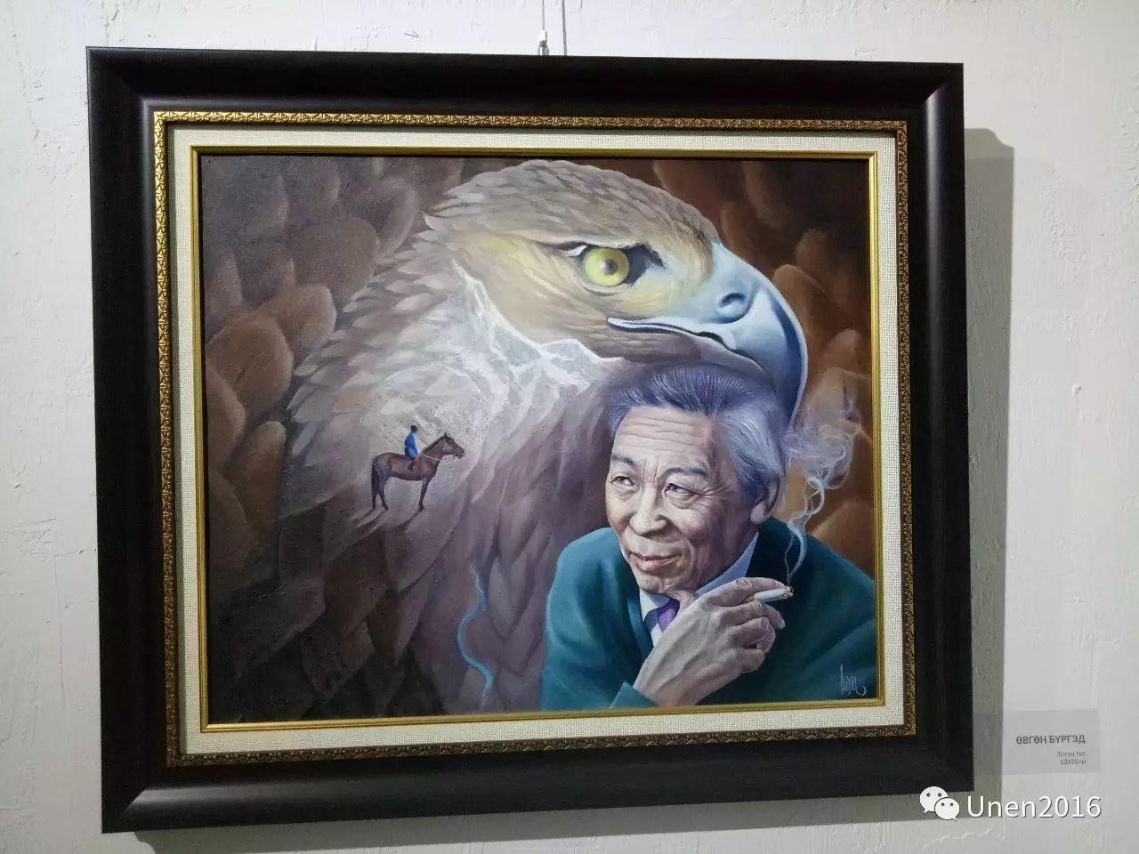 【Unen】美术:蒙古国青年画家巴雅尔的油画作品 第7张