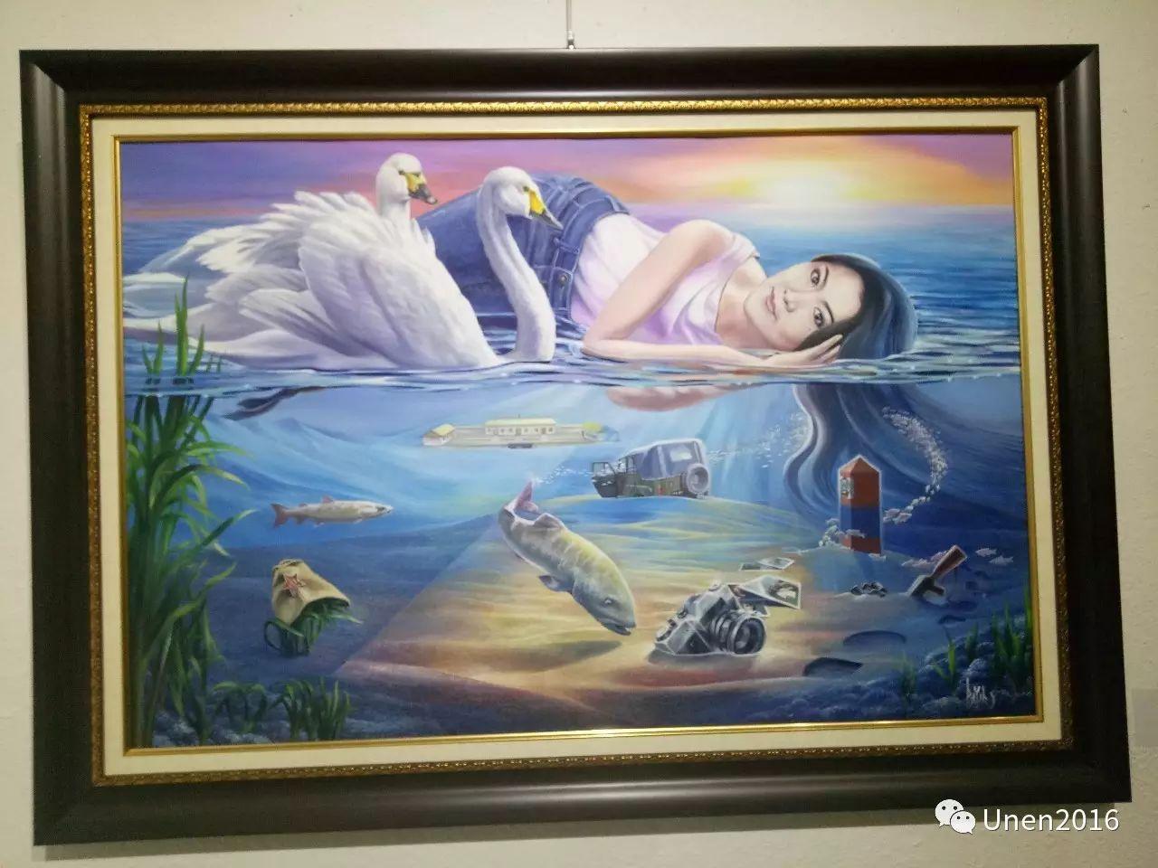 【Unen】美术:蒙古国青年画家巴雅尔的油画作品 第9张