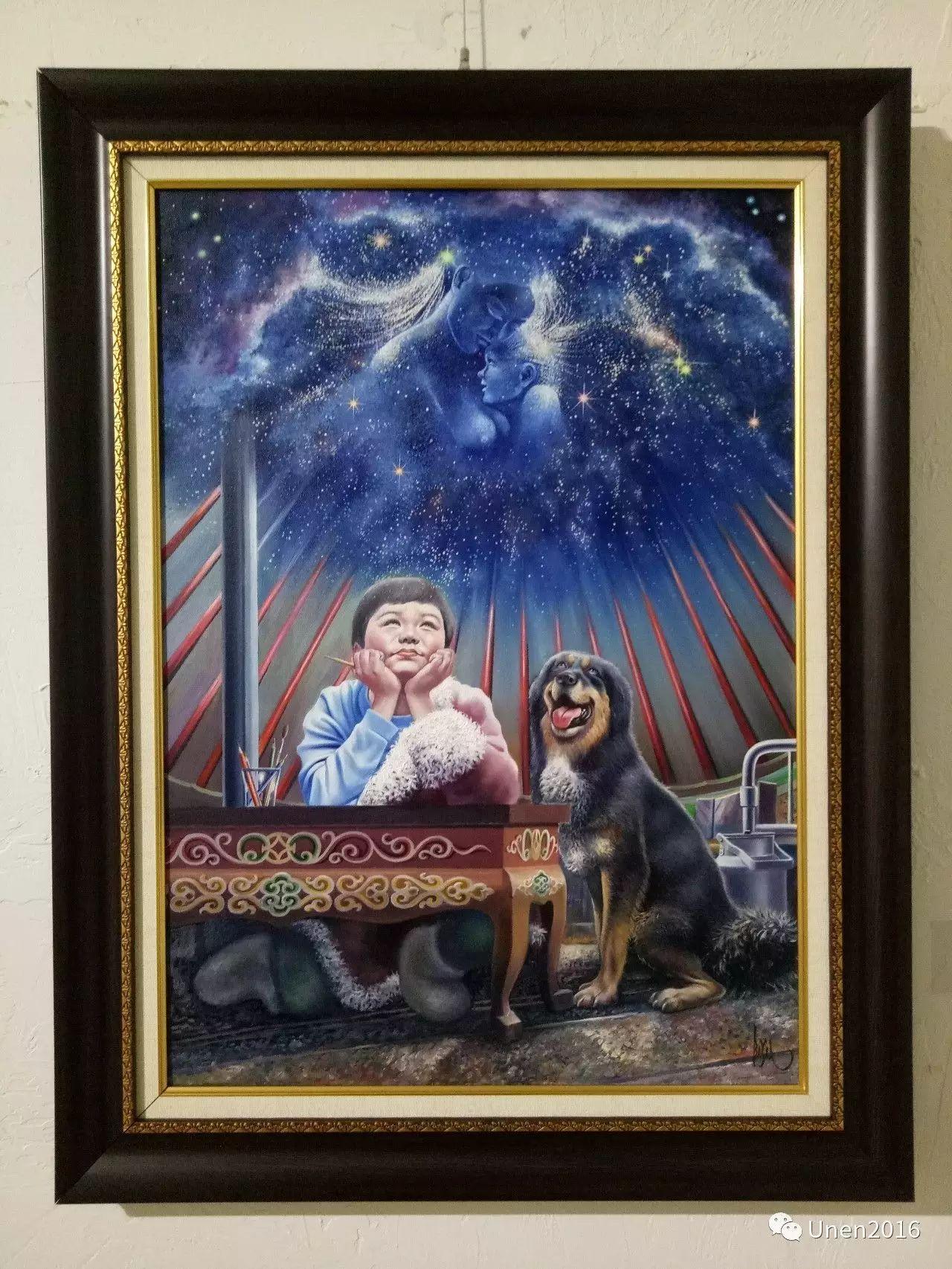 【Unen】美术:蒙古国青年画家巴雅尔的油画作品 第10张
