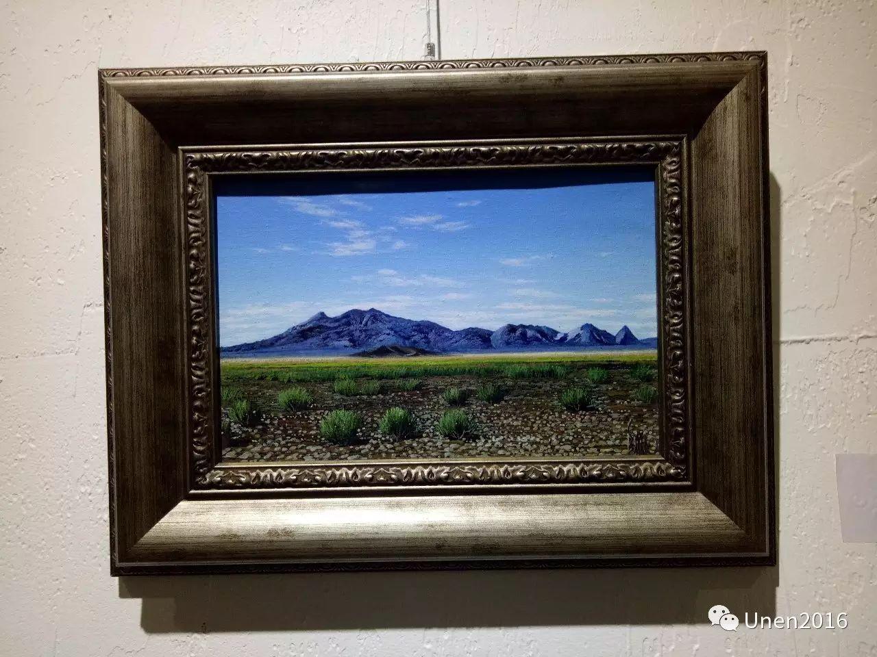 【Unen】美术:蒙古国青年画家巴雅尔的油画作品 第11张