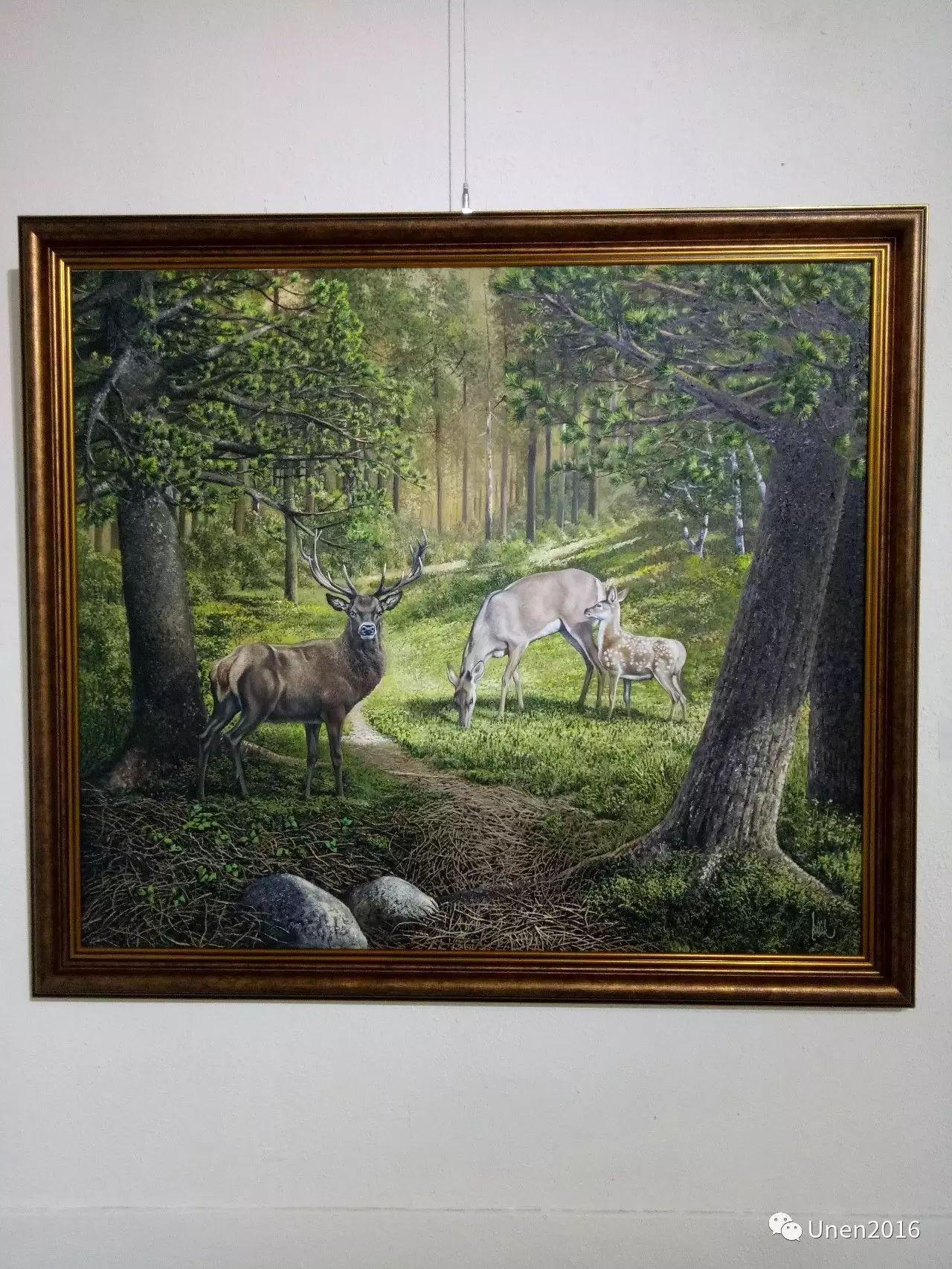 【Unen】美术:蒙古国青年画家巴雅尔的油画作品 第14张