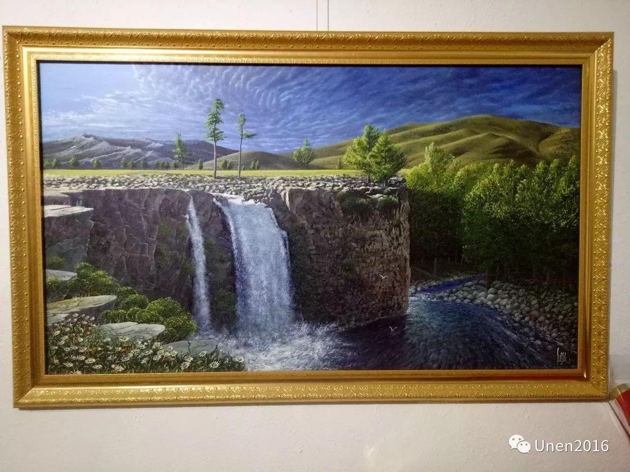 【Unen】美术:蒙古国青年画家巴雅尔的油画作品 第15张