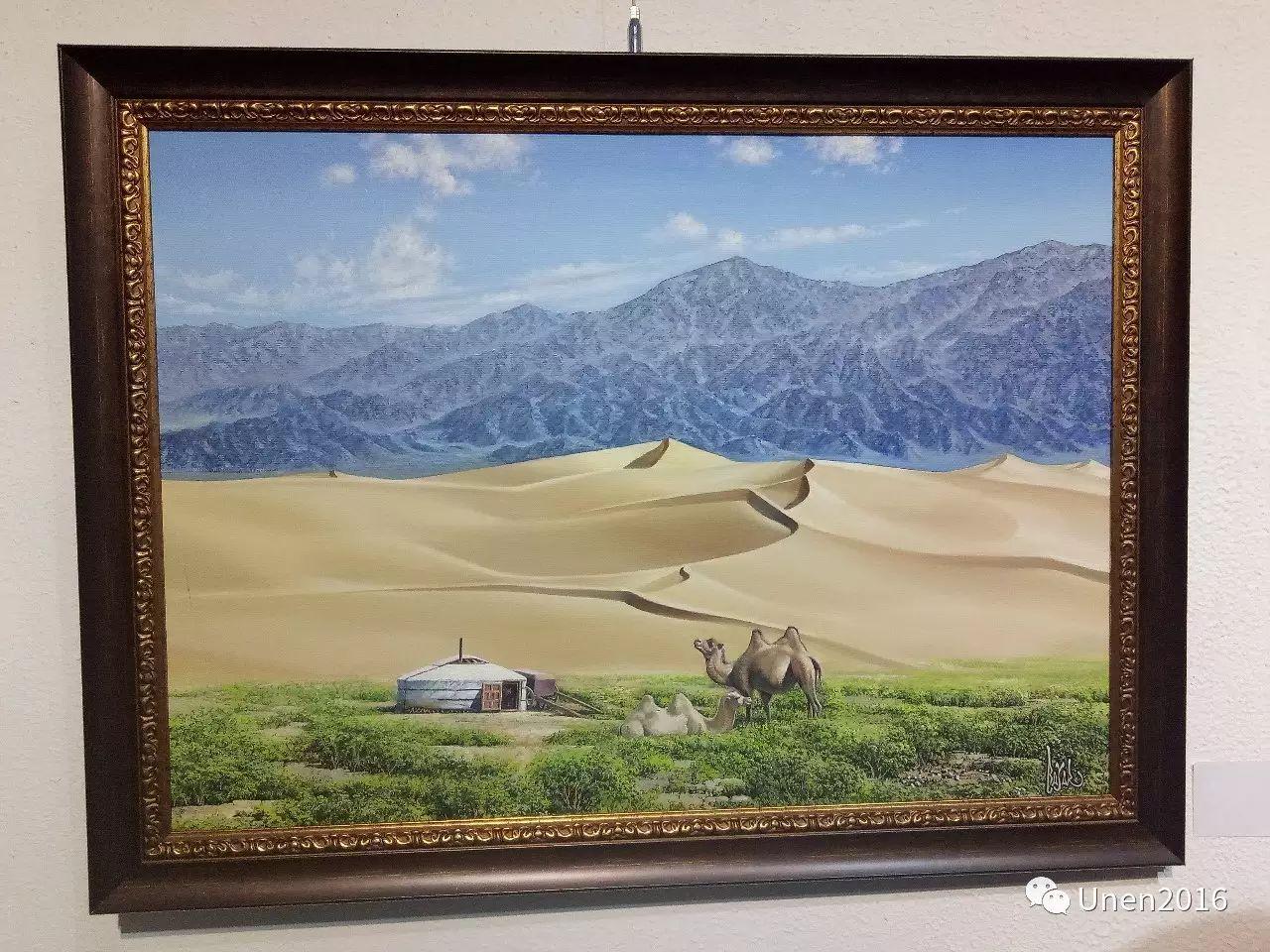 【Unen】美术:蒙古国青年画家巴雅尔的油画作品 第20张
