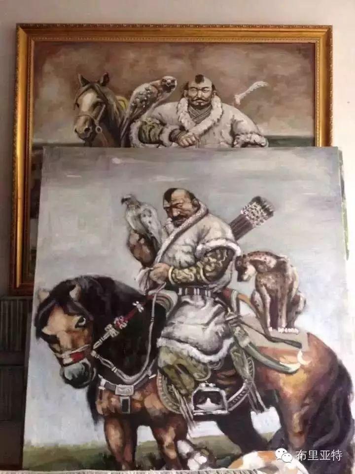 美术老师南德尔的绘画作品欣赏 第2张