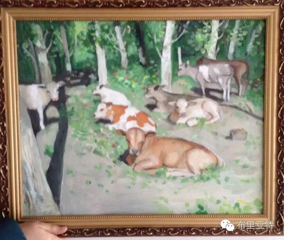 美术老师南德尔的绘画作品欣赏 第3张