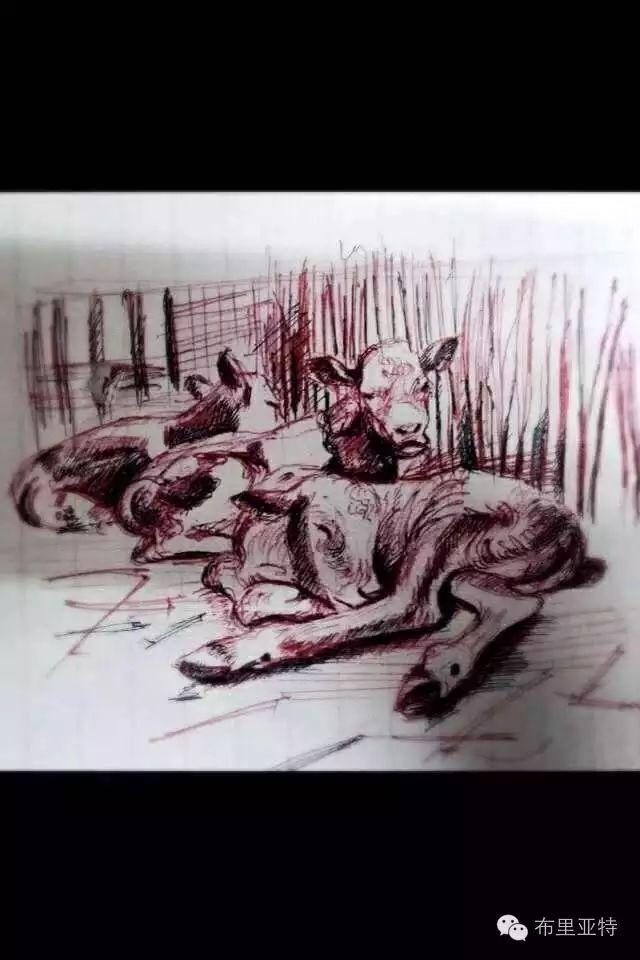 美术老师南德尔的绘画作品欣赏 第7张