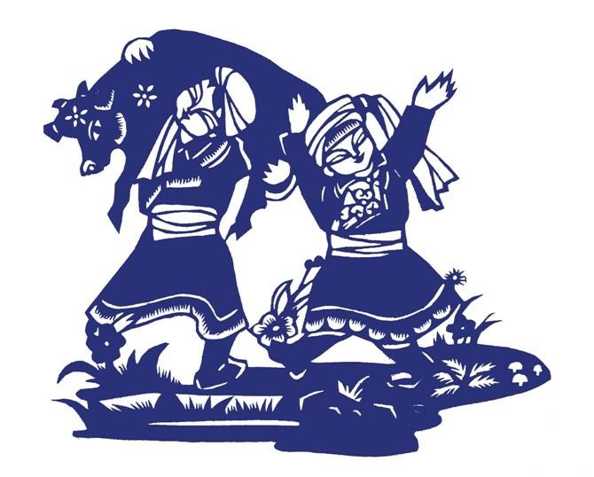 民间美术——蒙古族剪纸艺术欣赏 第1张