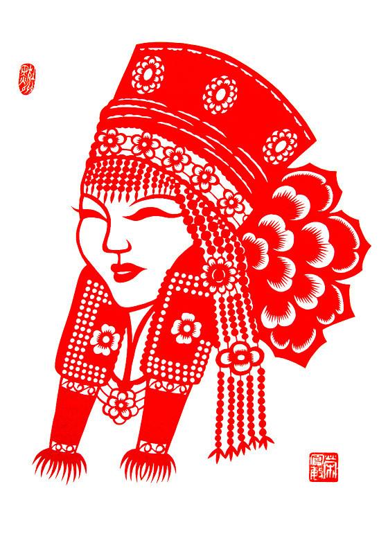 民间美术——蒙古族剪纸艺术欣赏 第4张