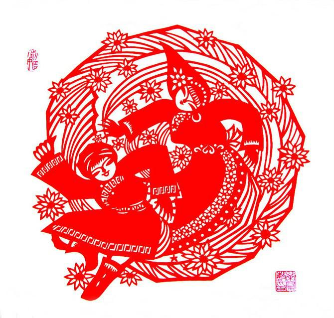 民间美术——蒙古族剪纸艺术欣赏 第3张
