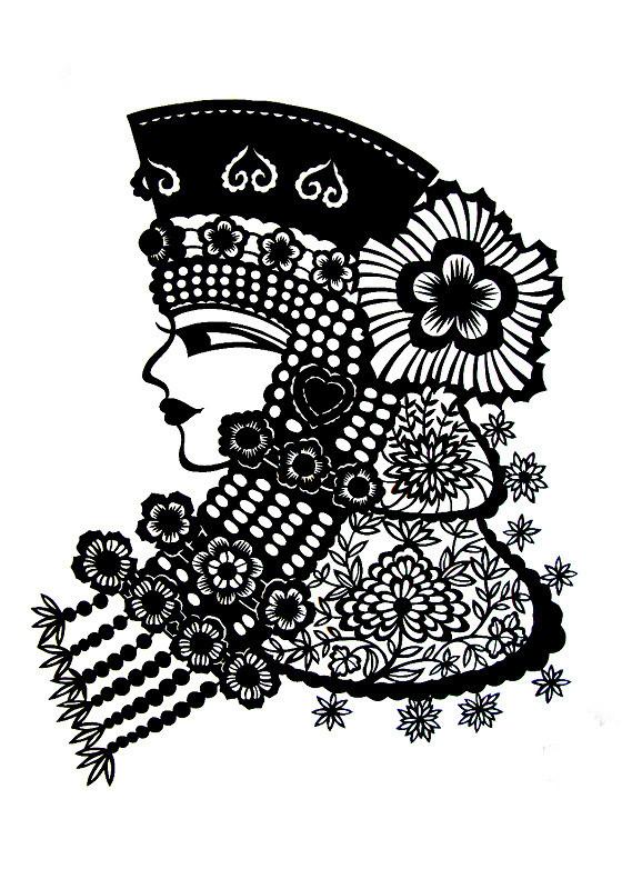 民间美术——蒙古族剪纸艺术欣赏 第9张