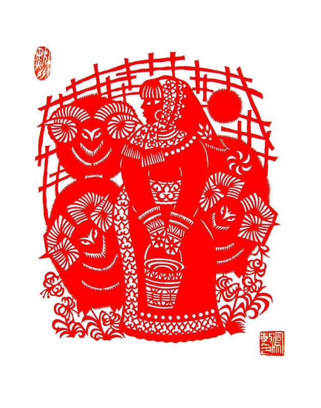 民间美术——蒙古族剪纸艺术欣赏 第10张