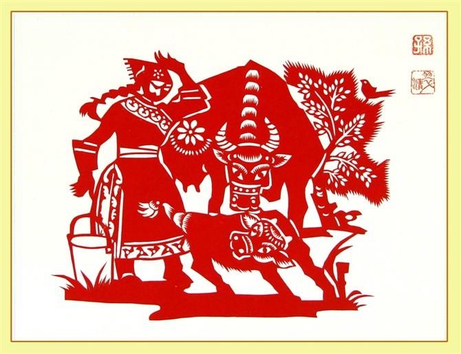 民间美术——蒙古族剪纸艺术欣赏 第21张