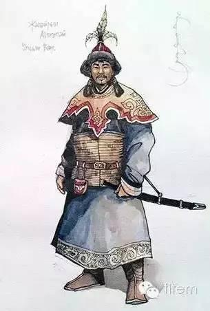 〖绘画〗蒙古帝国的将领画像 — 美术作品 第4张