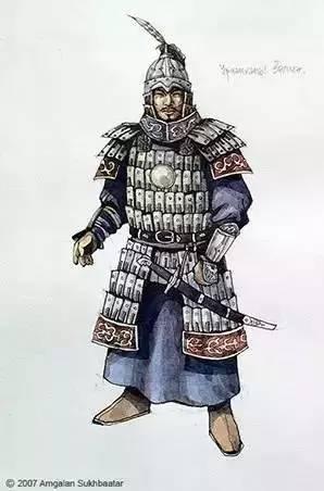 〖绘画〗蒙古帝国的将领画像 — 美术作品 第11张