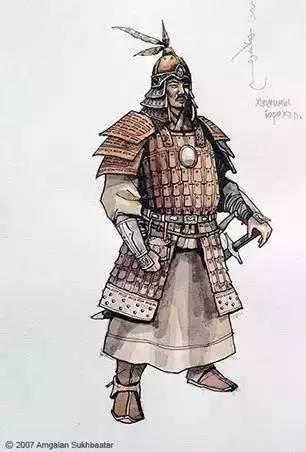 〖绘画〗蒙古帝国的将领画像 — 美术作品 第9张