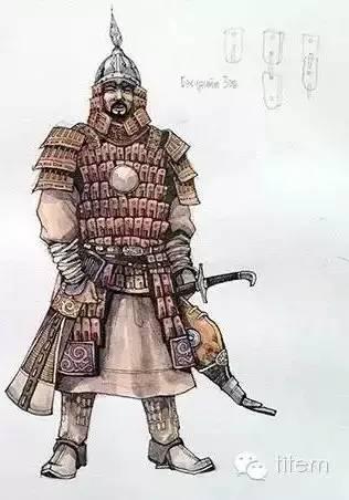 〖绘画〗蒙古帝国的将领画像 — 美术作品 第12张