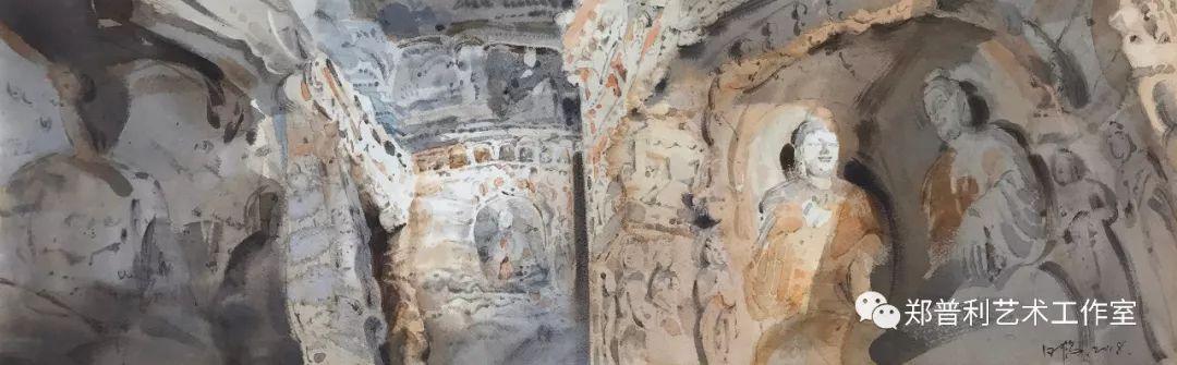 内蒙古师范大学美术学院2018届毕业水彩画 作品 第2张