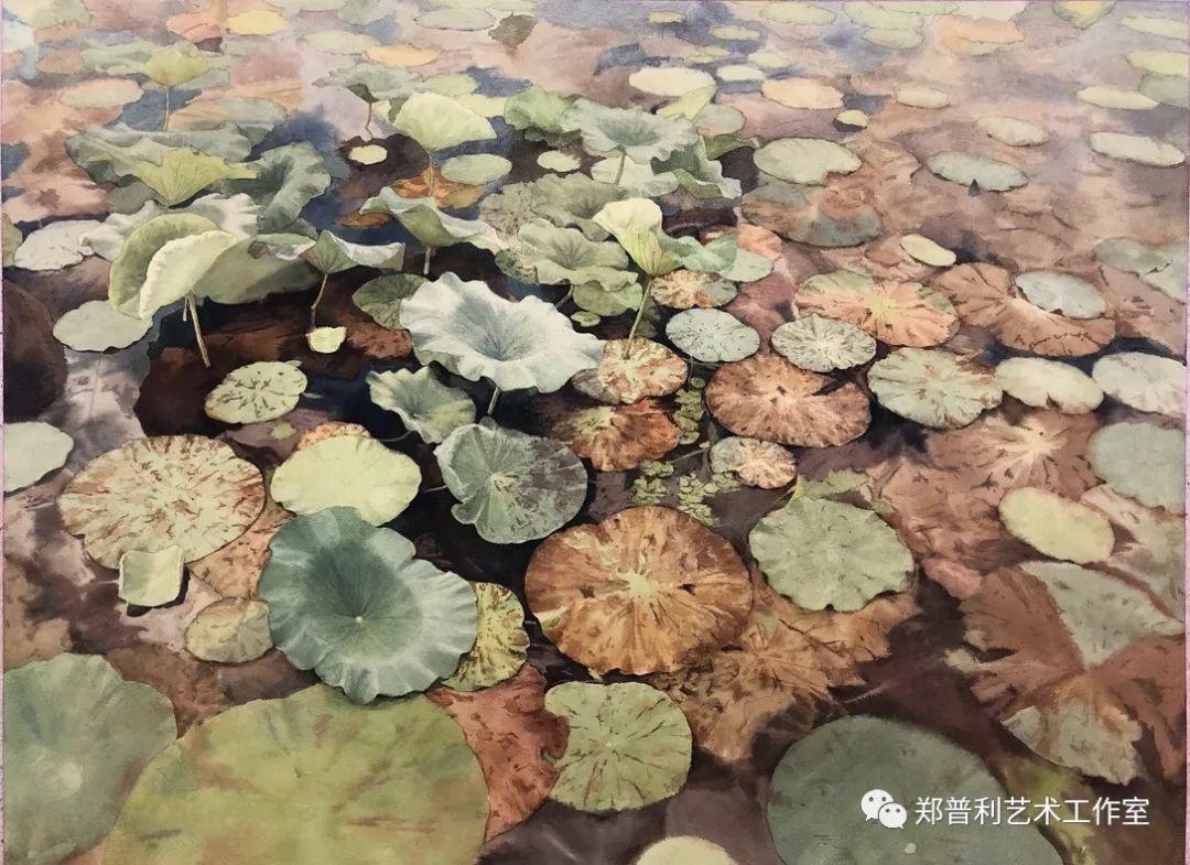 内蒙古师范大学美术学院2018届毕业水彩画 作品 第9张