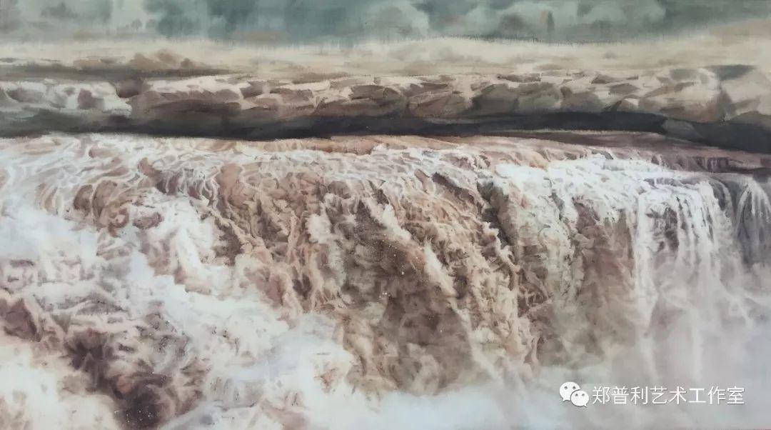 内蒙古师范大学美术学院2018届毕业水彩画 作品 第8张