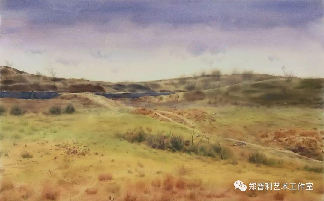内蒙古师范大学美术学院2018届毕业水彩画 作品 第11张
