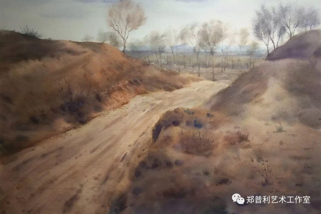 内蒙古师范大学美术学院2018届毕业水彩画 作品 第12张