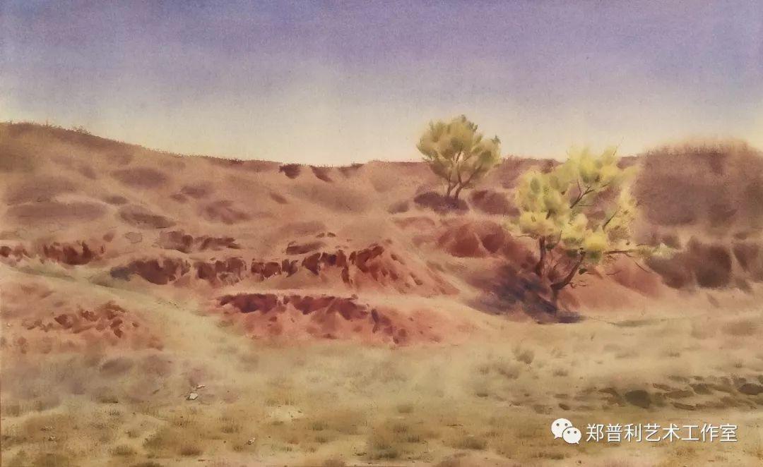 内蒙古师范大学美术学院2018届毕业水彩画 作品 第10张