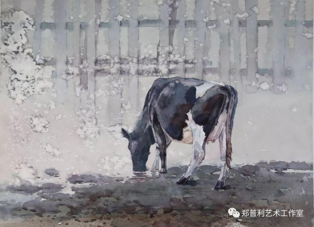 内蒙古师范大学美术学院2018届毕业水彩画 作品 第15张