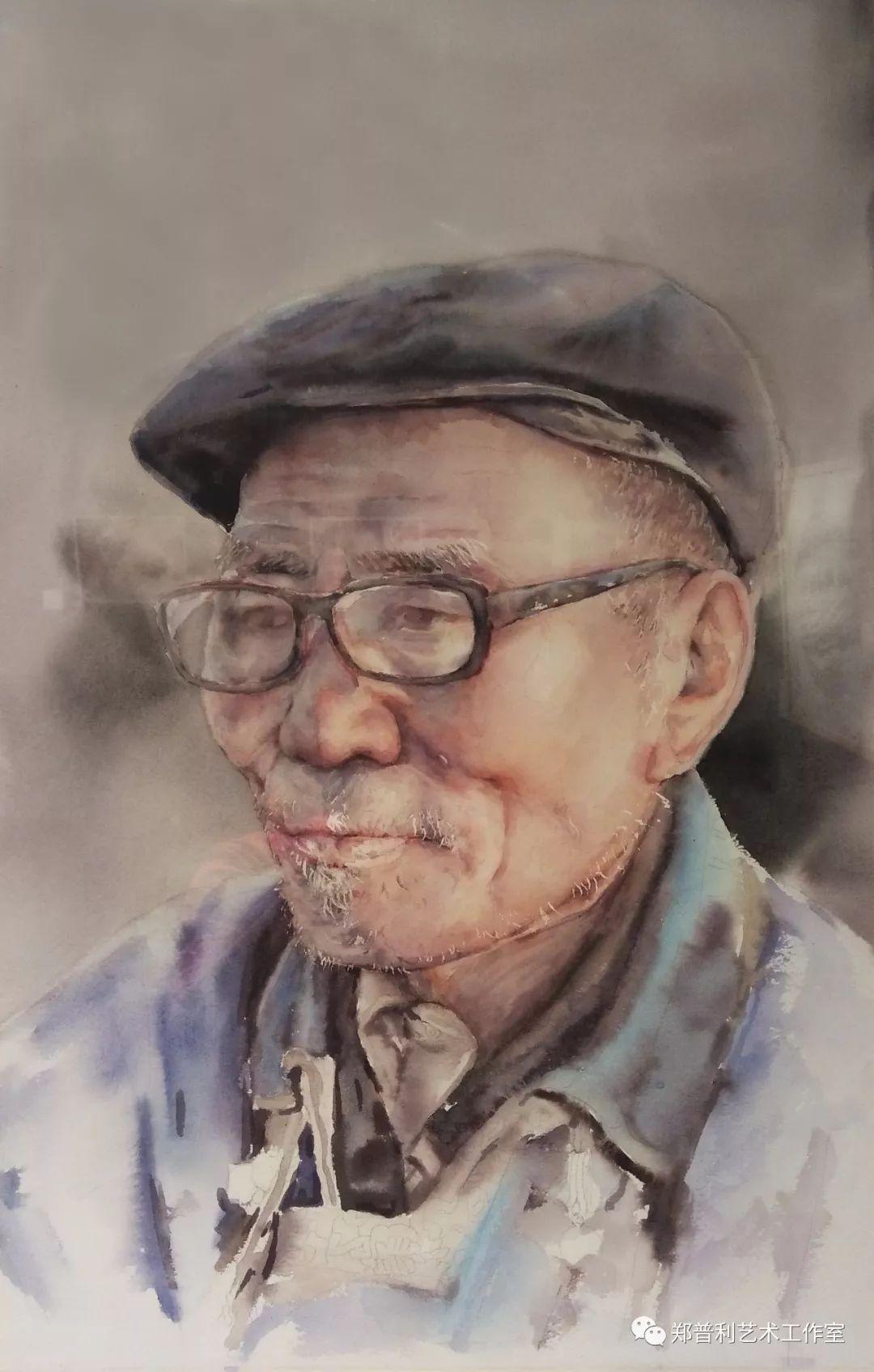内蒙古师范大学美术学院2018届毕业水彩画 作品 第17张