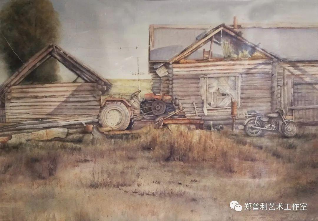 内蒙古师范大学美术学院2018届毕业水彩画 作品 第18张