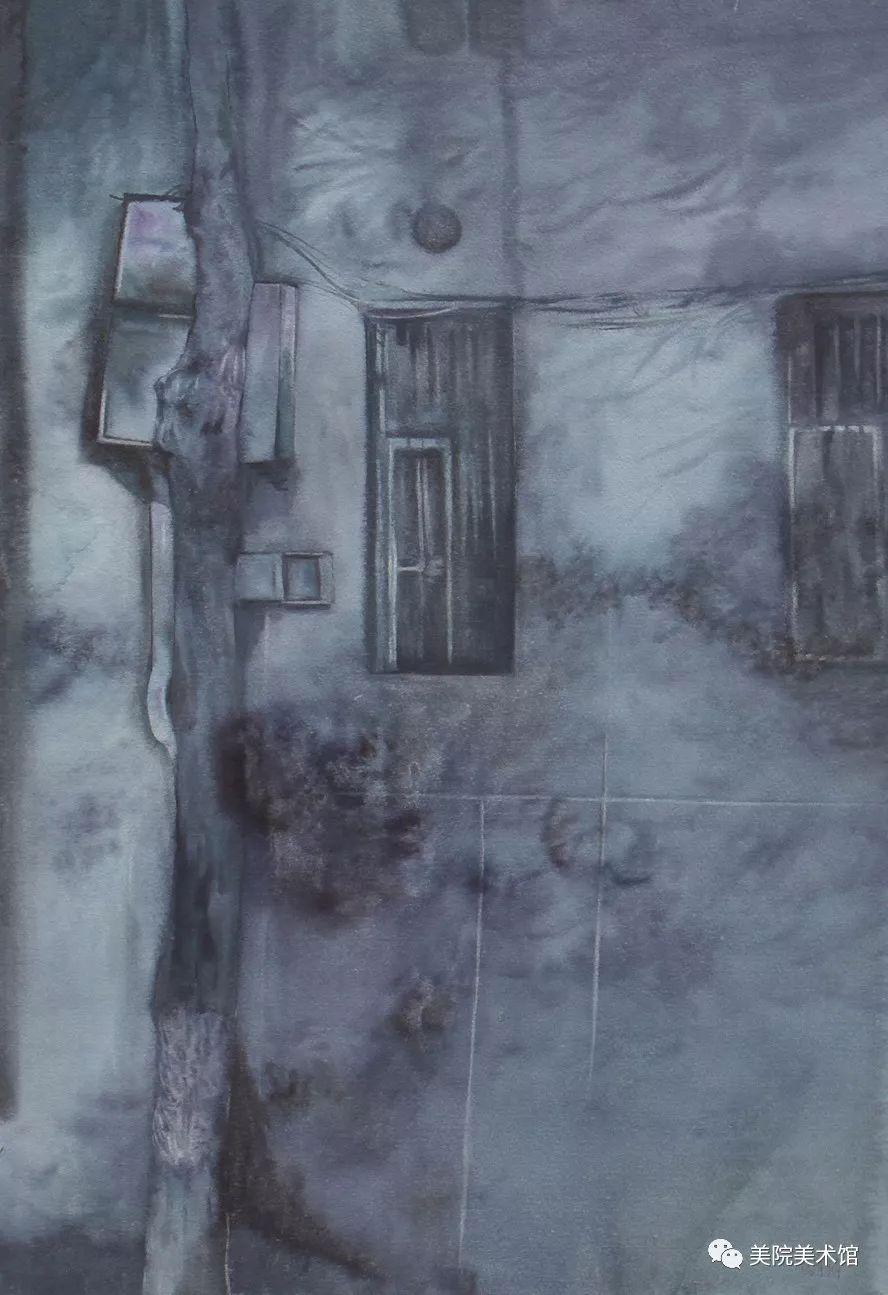 内蒙古师范大学美术学院2018届毕业水彩画 作品 第19张