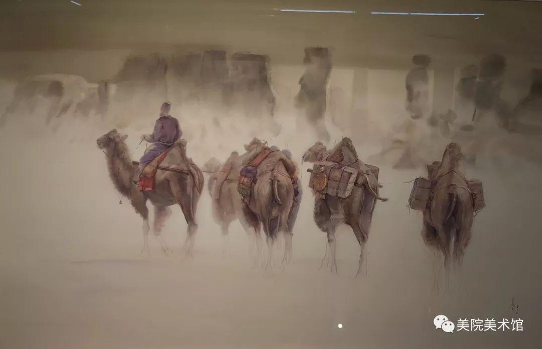 内蒙古师范大学美术学院2018届毕业水彩画 作品 第21张