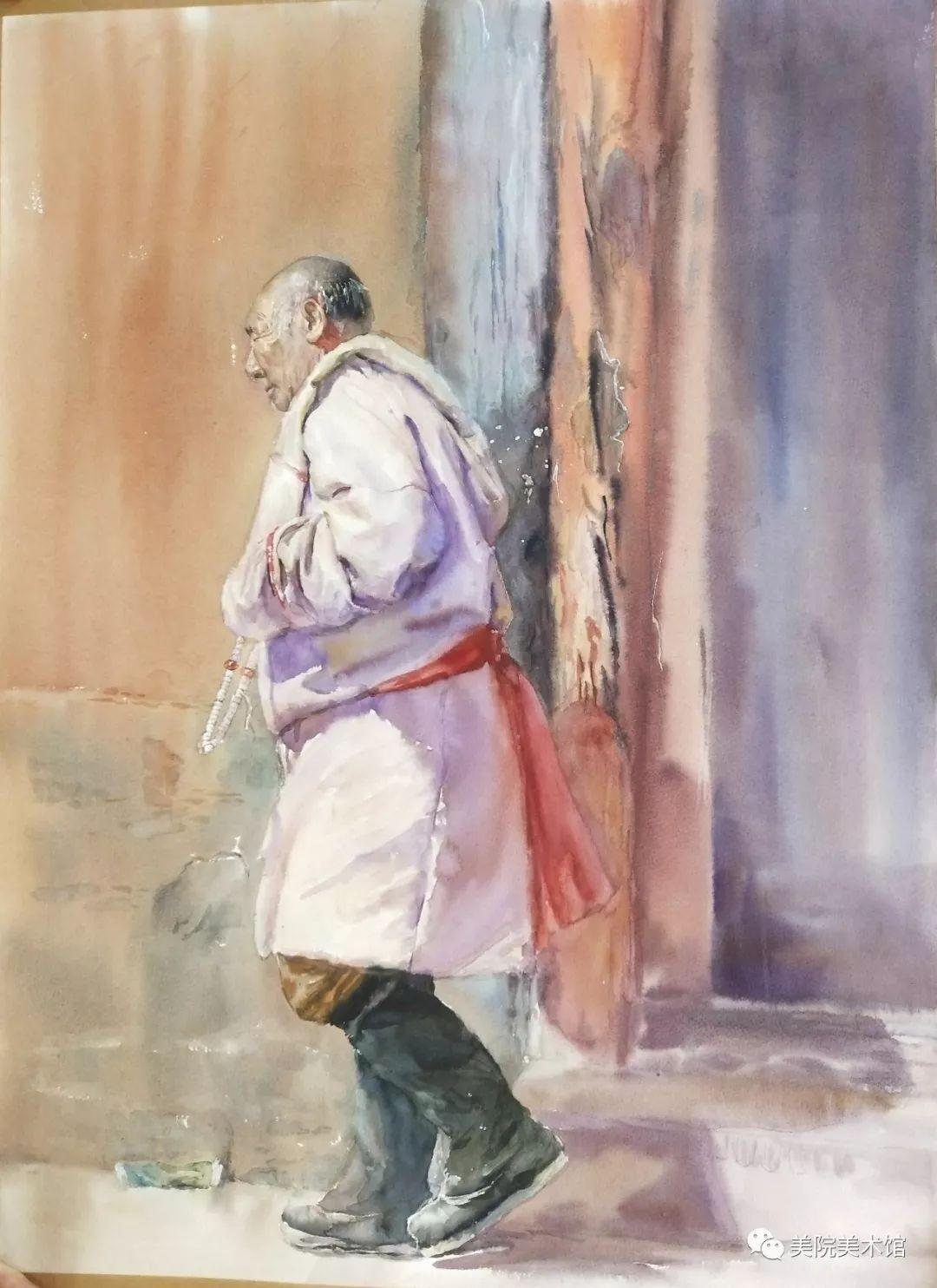 内蒙古师范大学美术学院2018届毕业水彩画 作品 第23张