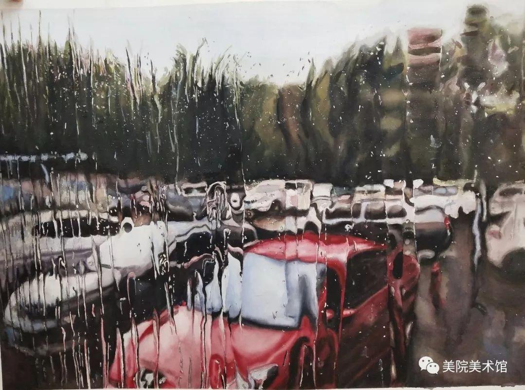 内蒙古师范大学美术学院2018届毕业水彩画 作品 第26张
