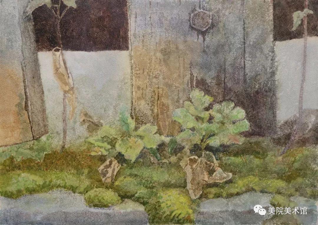 内蒙古师范大学美术学院2018届毕业水彩画 作品 第27张