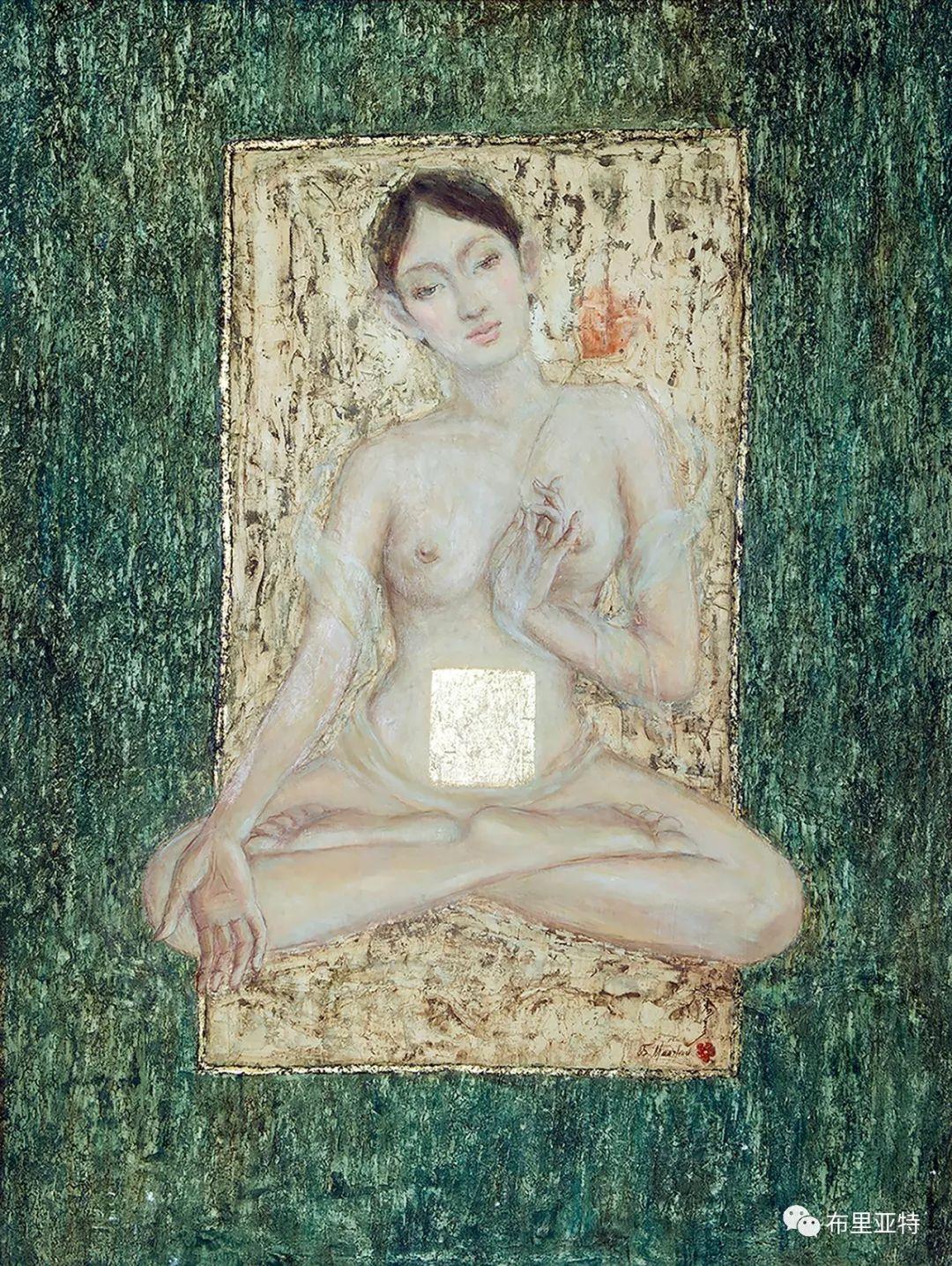 蒙古国艺术家介绍:孟克其其格·巴特孟克 第3张