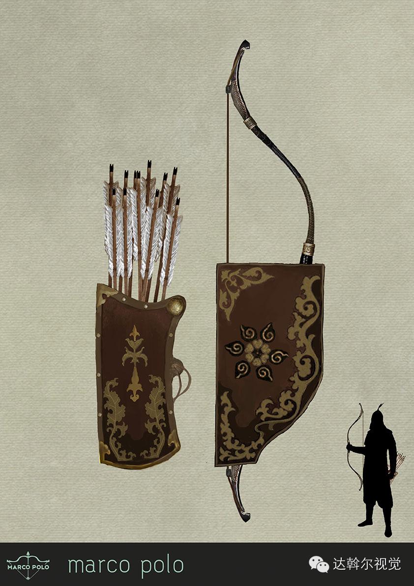 蒙古题材美剧《马可波罗》兵器设计欣赏 第10张
