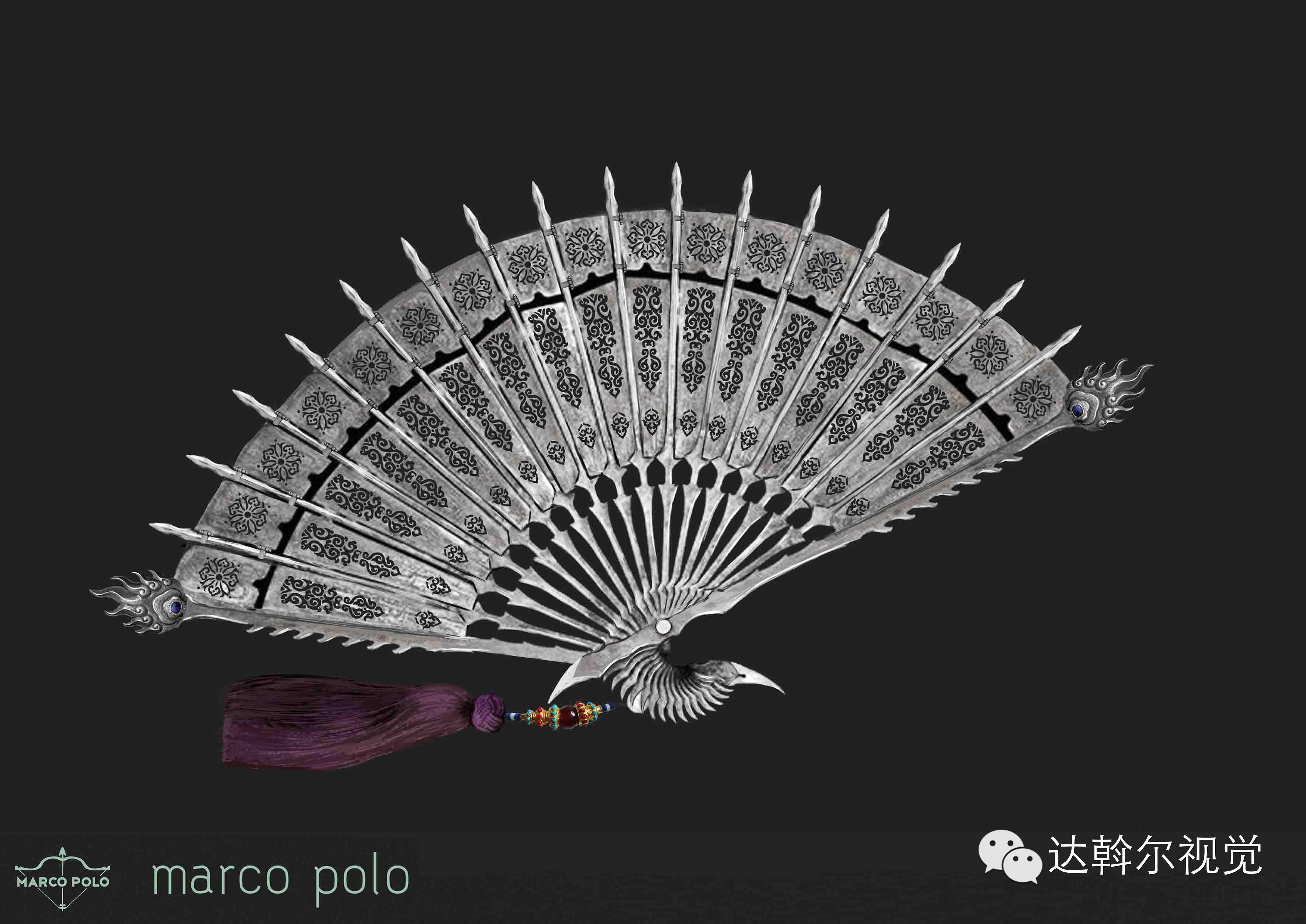 蒙古题材美剧《马可波罗》兵器设计欣赏 第21张